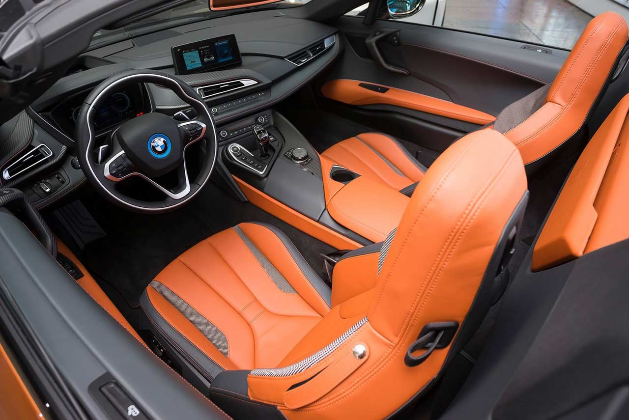 2018 bmw i8 roadster interior autobics for Bmw i8 interior